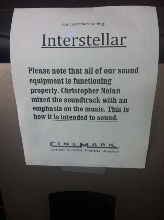 Cinemark-Interstellar